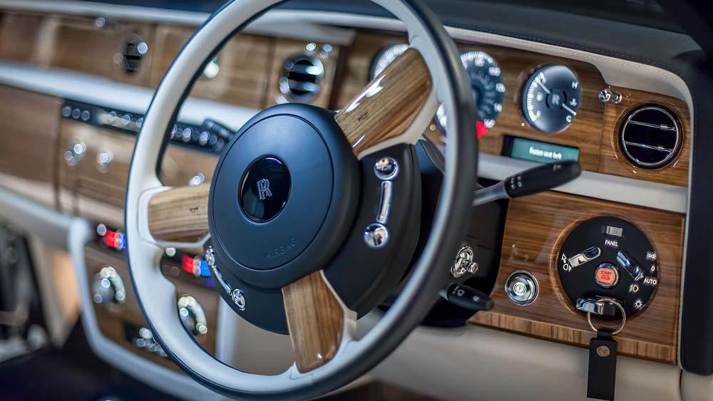 Rolls Royce Phantom Wedding Car Hire Edinburgh