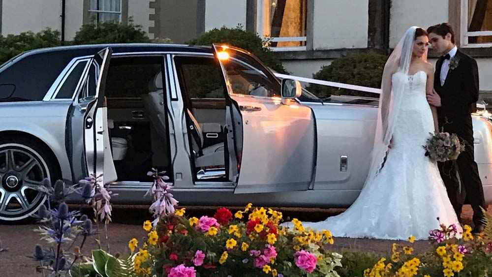 Phantom Scotland The Ultimate Wedding Chauffeur Car Hire In